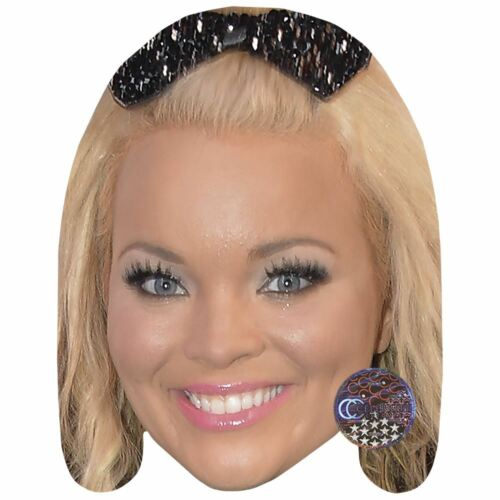 Trisha Paytas Smile Celebrity Mask Card Face and Fancy Dress Mask
