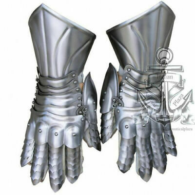 Armour Functional Gauntlets pair Medieval Steel Gloves Medieval Costume Gift