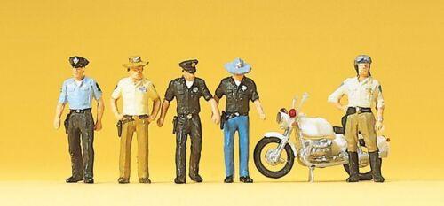 Preiser 10370 Polizisten USA H0