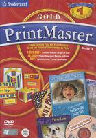 Printmaster 18 Gold Print Master Desktop Publishing Software - Brand In Box