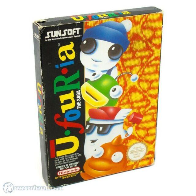 NINTENDO NES JEU-U-Four-IA jeu-Ufouria PAL-B avec neuf dans sa boîte