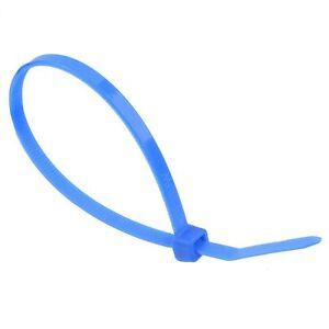 4-8mm-x-370mm-Azul-Cremallera-CABLE-LAZO-Paquete-100