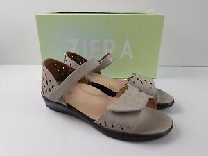 Ziera DIAZ Stone Comfort Orthopaedic Comfort Shoe Low Heel Women's US 36 W NEW