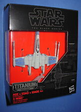 Star Wars RESISTANCE X-WING 02 Titanium Series The Force Awakens  Black Series
