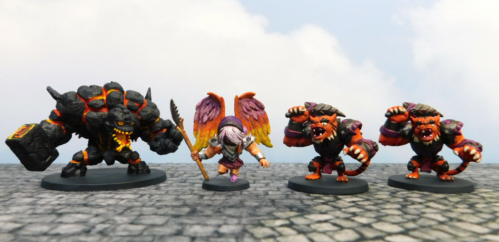 Well-Painted CMON SW Games Arcadia Quest Inferno  Whole Lotta Lava (4)