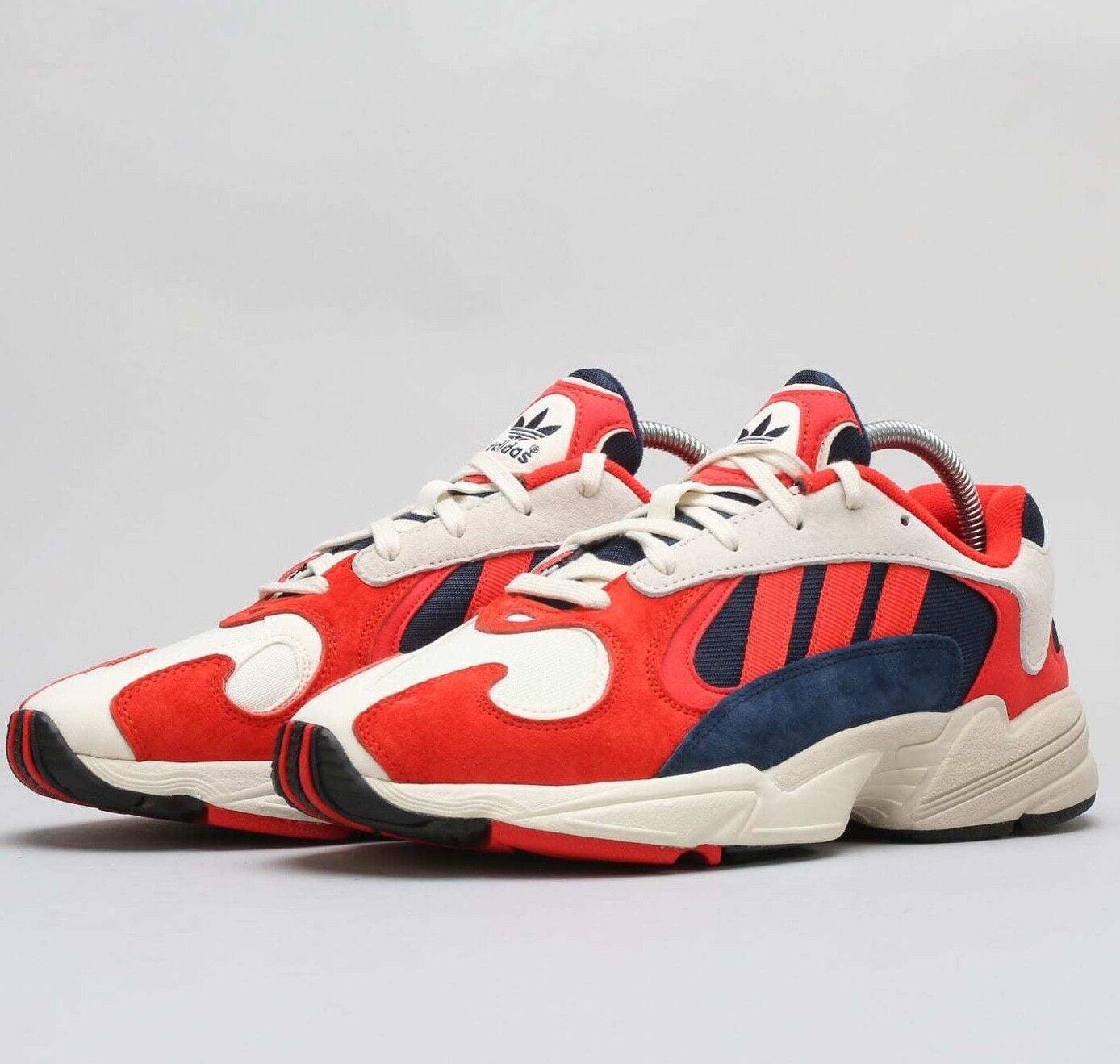 Adidas yung-1 navy rojo hombre blanco b37615 Yung 1 hombre rojo zapatos NIB bc5069
