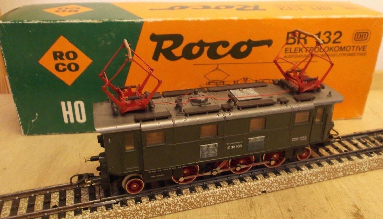 Roco H0 43917 (14145a) E - Locomotora Br 132 Iluminación Probado con
