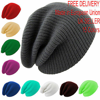 Yamike Kids Knitted Hat Thick Soft Warm Slouchy Knit Hat for Toddlers Boys /& Girl