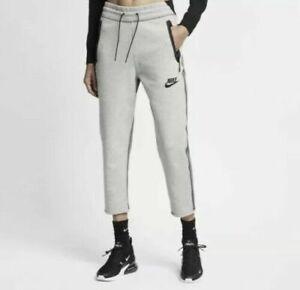 Nike Sportswear Tech Fleece Cropped Pants Women's Size Small AR2946-063