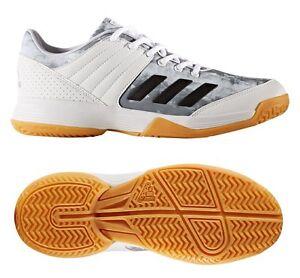 Details zu adidas Damen Volleyballschuhe Ligra 5 Hallen Indoor Schuhe BY2578 Weiß Silber