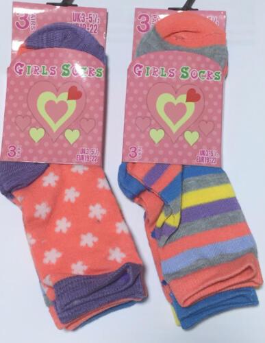 12 Pairs Kids Girls Soft Luxury Multi Designer Beautiful Children Sizes Socks