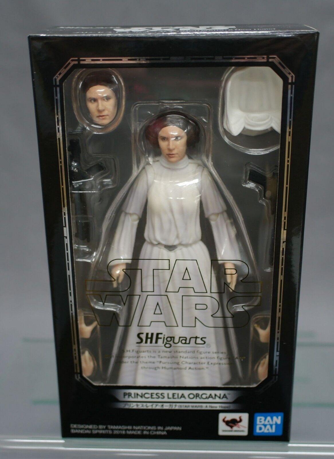 S.H. Figuarts Leia Leia Leia Star Wars Princess Leia Organa (A New Hope) Bandai NEW b524d4
