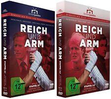 Reich und Arm - Staffel 2 komplett (Buch 2) - Staffeln-Boxen 2.1 + 2.2 (DVD)