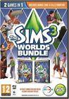 & The Sims 3 Worlds Bundle Hidden Springs Monte Vista PC DVD Game