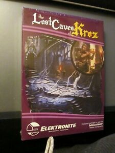 LOST-CAVES-OF-KROZ-Intellivision-game-CIB-Elektronite-New-sealed