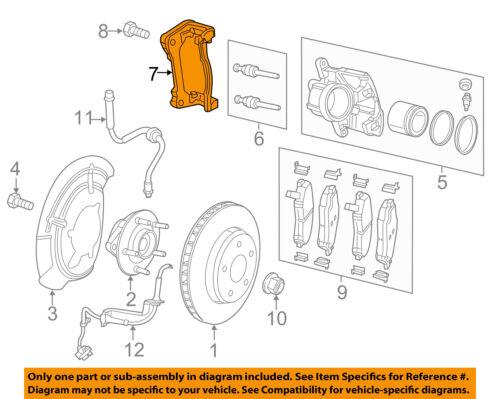Jeep CHRYSLER OEM 15-18 Renegade Brake-Front-Caliper Mount Right 68267917AA
