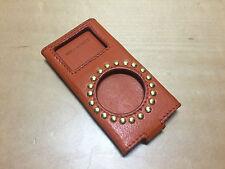 Funda Piel Naranja PRADA for APPLE iPod Nano - Orange Leather Case