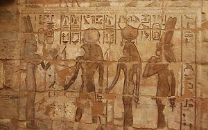 Lámina-egipcio jeroglíficas desde Gran Pirámide de Giza (Imagen Arte Cartel  </span>