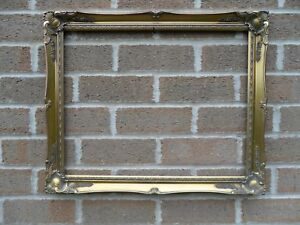 Beautiful-Large-Ornate-Rococo-Style-Gold-Vintage-Picture-Frame-59-x-48-5-cm