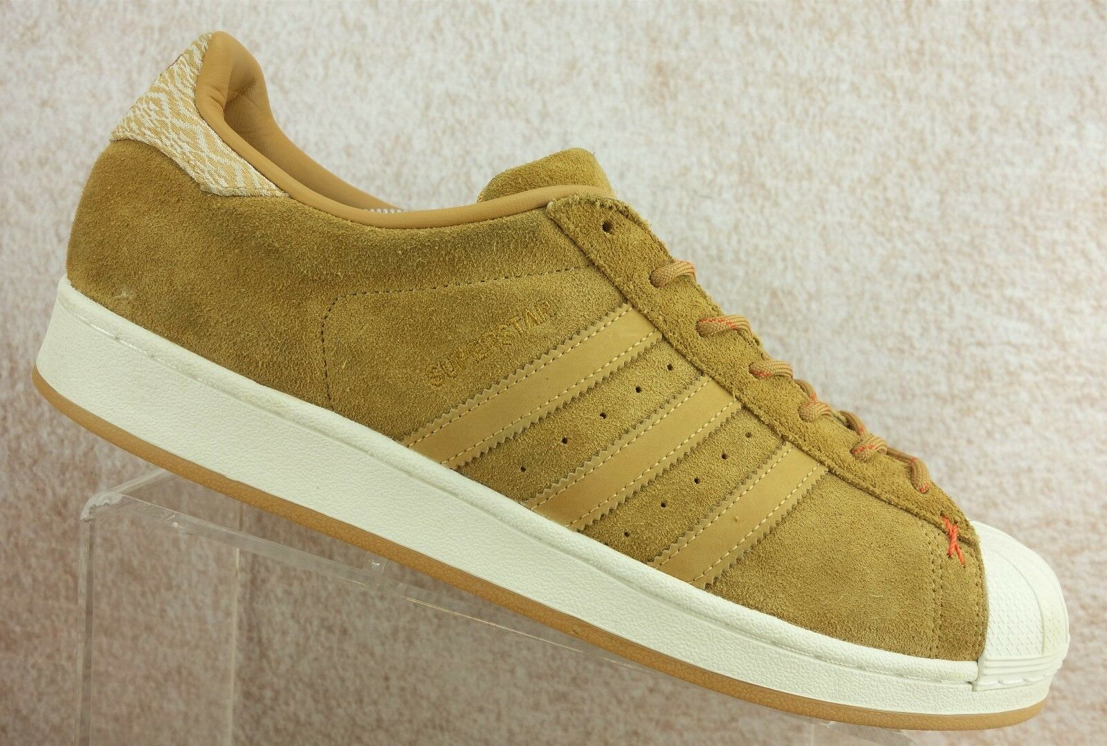 Adidas Superstar Mesa Brown Suede Sneaker Fashion Sport Men's 13 Comfortable and good-looking