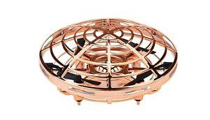 Drohne-UFO-mit-Handsteuerung-mit-Akku-Gold