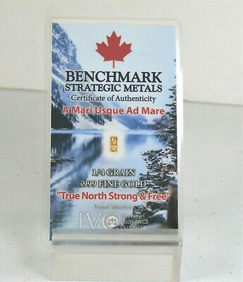 5 X GOLD CANADA GOLD CARDS 1//4 GRAIN 24k PUREGOLD 999 FINEFRACTIONAL GOLD A14