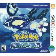 3DS Games Pokemon Alpha Sapphire Brand New & Sealed