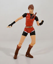 "RARE 1998 Claire Redfield 5"" Toy Biz Action Figure Capcom Resident Evil 2"