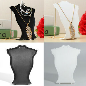 Stand-Organizer-Jewelry-Holder-Showcase-Rack-Pendant-Necklace-Earrings-Display