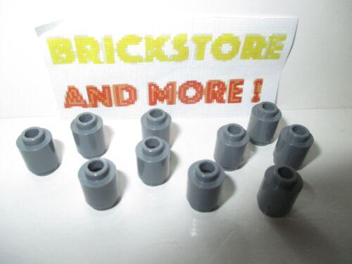 Choose Quantity Lego Brique Ronde Brick Round 1x1 3062 Dark Bluish Gray