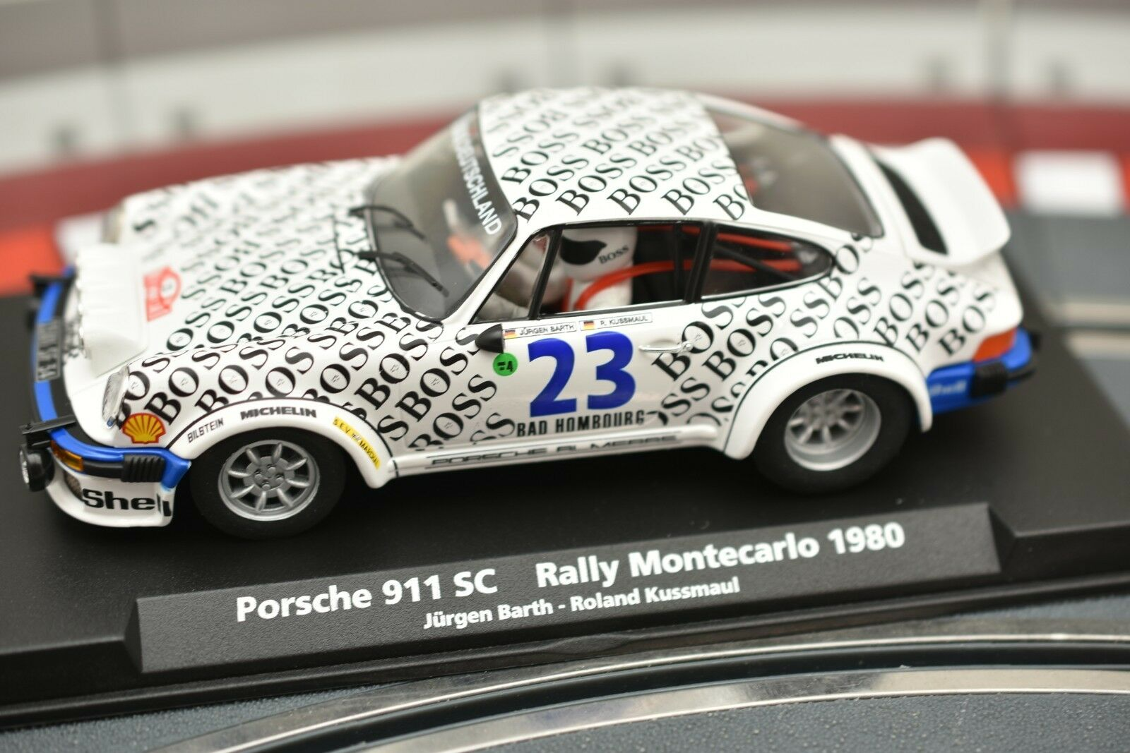 88170 FLY CAR 1 32 CAR MODEL PORSCHE 911 SC RALLY MONTECARLO 1980 BARTH-KUSSMAUL