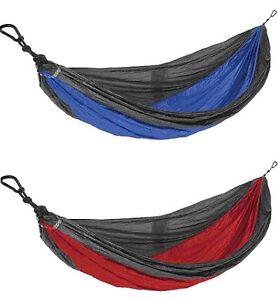 image is loading castaway travel hammocks all in one double hammock  castaway travel hammocks all in one double hammock  blue red      rh   ebay