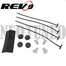 Rev9 UNIVERSAL RADIATOR ELECTRIC FAN MOUNTING KIT STRAP TIES COOLING / free ship