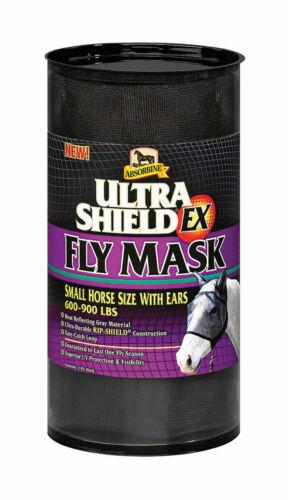 Absorbine UltraShield Ex Fly Mask avec oreilles-Petit Cheval//Horse