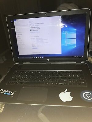 Hp laptop AMD A8-6410 APU with AMD RADEON R5 Graphics 2 00