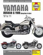 Yamaha VStar V-Star 650 1100 Classic Custom Silverado HAYNES REPAIR MANUAL 4195