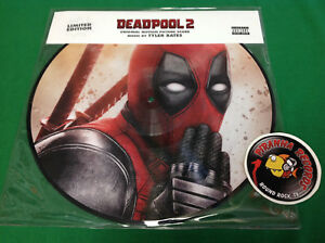 Deadpool-2-Motion-Picture-Score-Tyler-Bates-Picture-Disc-NEW-2018-Piranha-Record