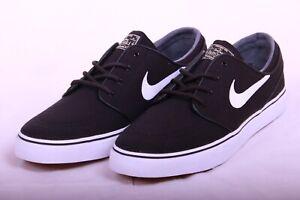 3aec39c15aa6 Nike SB Zoom Stefan Janoski Canvas Skate Board Shoes BLACK Gum ...