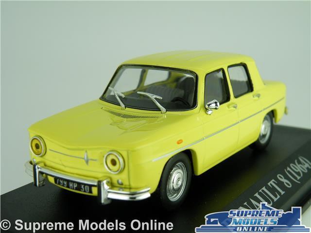 RENAULT 8 MODEL CAR 1 43 SCALE YELLOW IXO 1964 SALOON K8