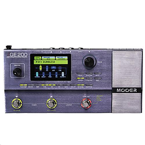 Mooer GE200 Guitar Multi Effects Processor Pedal Board IN STOCK Today !!!!