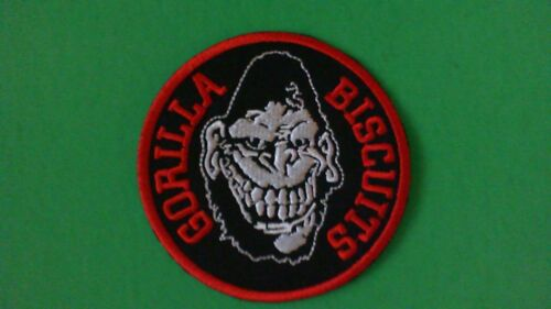 New Hardcore Punk Rock CIV Agnostic Front RARE Gorilla Biscuits Iron On Patch