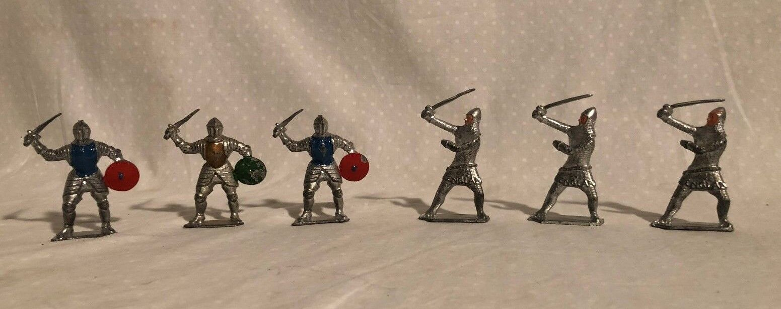 Crescent Medieval Knights 6 piece set