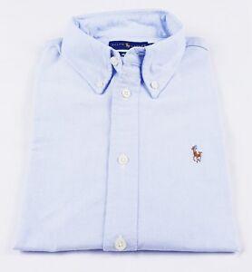 Original Ralph Custom Women nbsp;shirt70 Lauren Oxfor Sleeve Long Price Fit Cotton OIzOPqrw