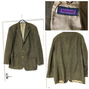 Austin Reed E Thomas Wool And Cashmere Superfine Cloth Men S Jacket Size 52 B11 Ebay