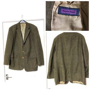 Austin Reed E Thomas Wool And Cashmere Superfine Cloth Men S Jacket Size 52 B11 Ebay