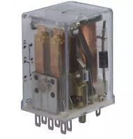 Te Connectivity/p&b R10-e2y2-v2.5k Relay 48vdc 2.5kohm 3a Dpdt, Us Authorized