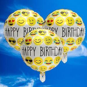 Image Is Loading 3 12X 18 039 Happy Birthday Emoji