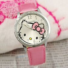 49f7a29a2 item 1 Lady Girl Kid Child Pink Hello Kitty Syntheti Leather Wrist Watch  Birthday Gift -Lady Girl Kid Child Pink Hello Kitty Syntheti Leather Wrist  Watch ...