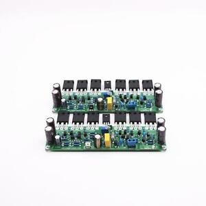 L15-FET-Stereo-HiFi-Power-Amplifier-IRFP240-IRFP9240-Audio-Amp-Finished-Board