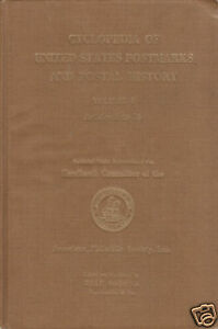 Cyclopedia-of-US-Postmarks-Vol-1-by-Delf-Norona-gently-used